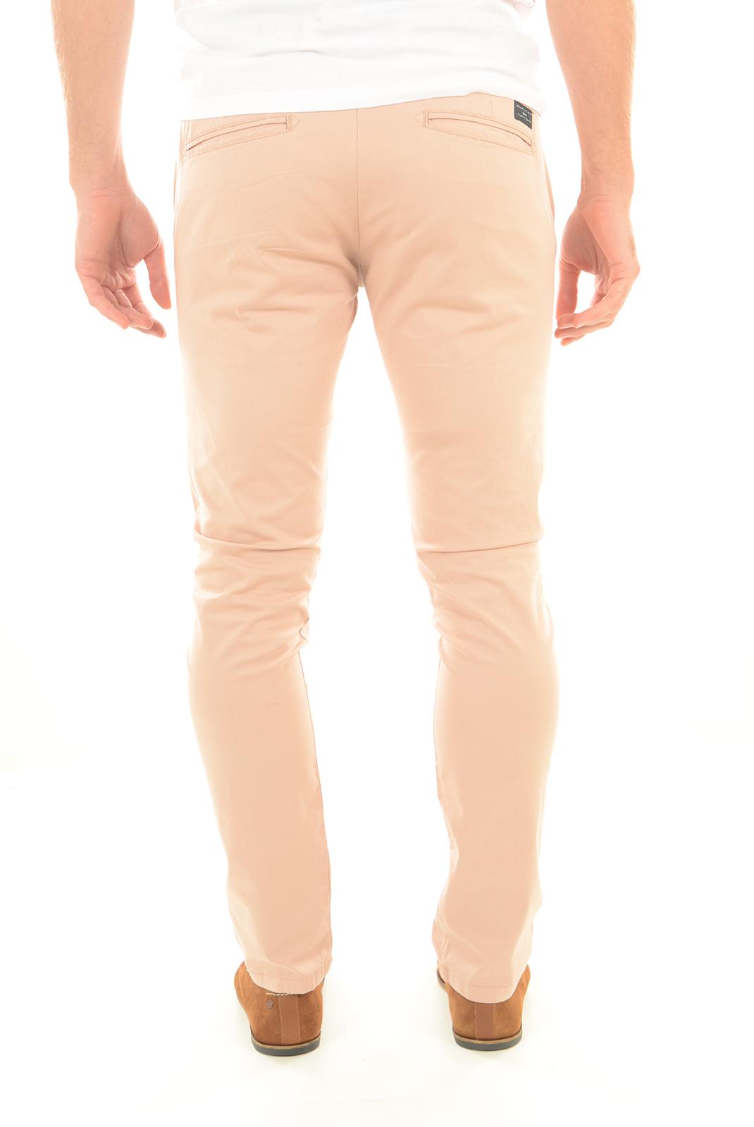 HOMME  Selected YARD SLIM PANTS ROSE