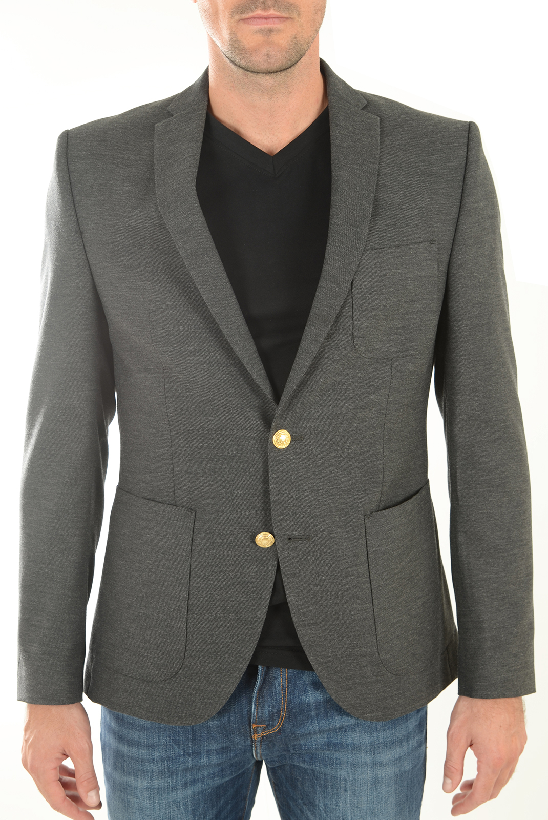 HOMME  Selected ONE BAY-ERWIN GREY MELANGE