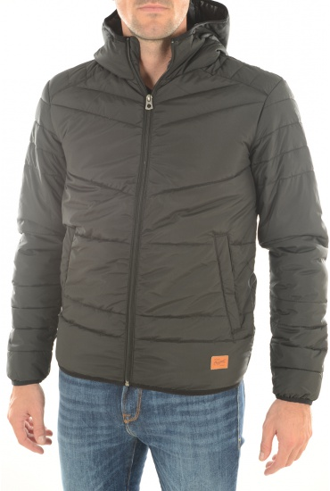 HOMME JACK AND JONES: BOMB PUFFER CAMP