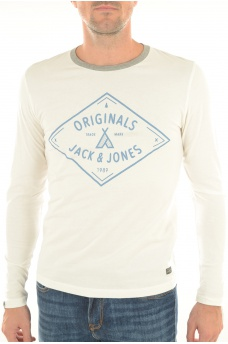 ADVENTURE TEE - HOMME JACK AND JONES