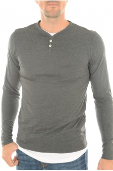 RUPPA TEE V-NECK - HOMME JACK AND JONES