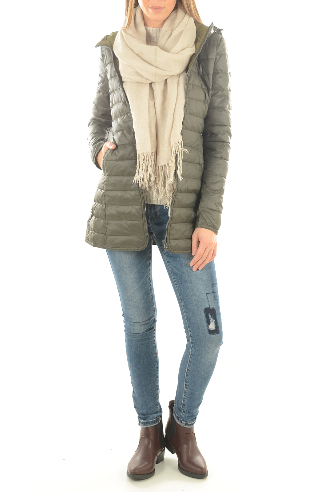 Vestes & blousons  Only TAHOE QUILTED COAT PEAT