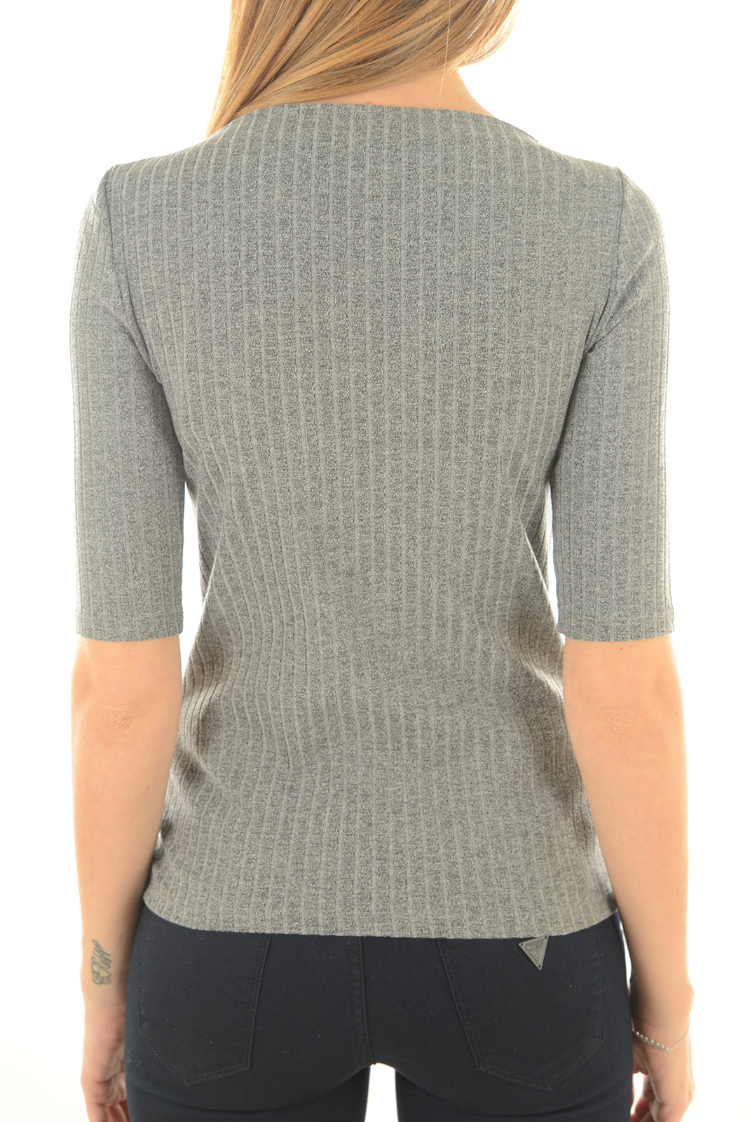 Top   Only AMY 2/4 TOP DK GREY