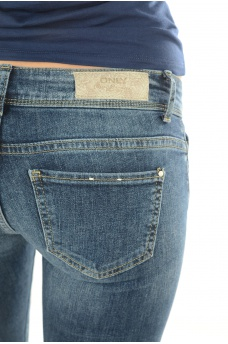 ONLY: CORAL SUPERLOW SKINNY