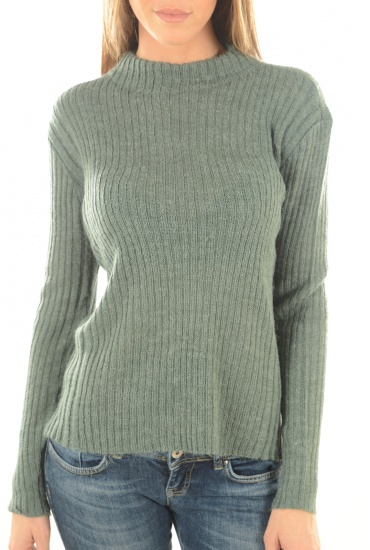 NORA L/S HIGHNECK PULLOVER - MARQUES ONLY