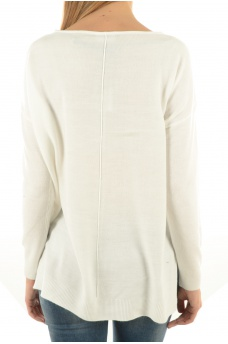 NOISY MAY: CHEN L/S BOATNECK TOP-B