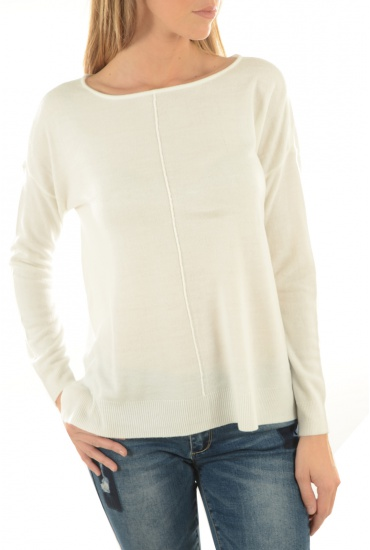 MARQUES NOISY MAY: CHEN L/S BOATNECK TOP-B
