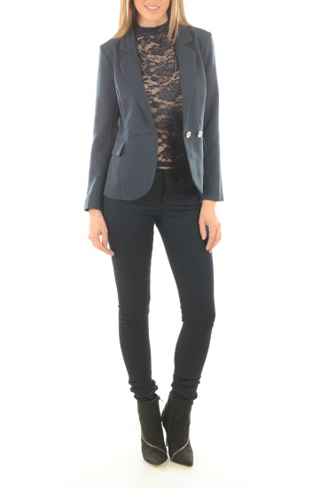 MARQUES ONLY: JERI L/S DOUBLE BLAZER