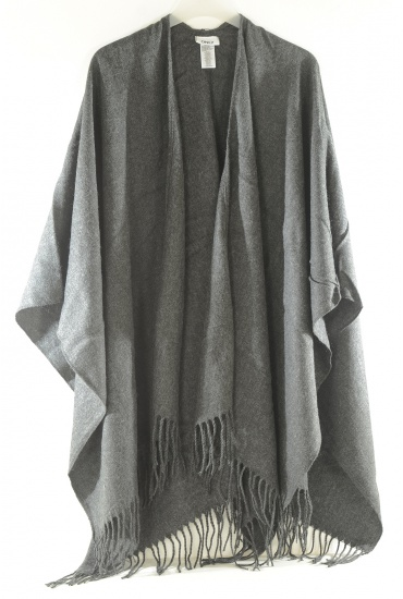 AYA WEAVED SOLID PONCHO - FEMME ONLY