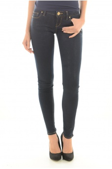 W62A00D23N0 SKINNY ULTRA LOW - MARQUES GUESS JEANS