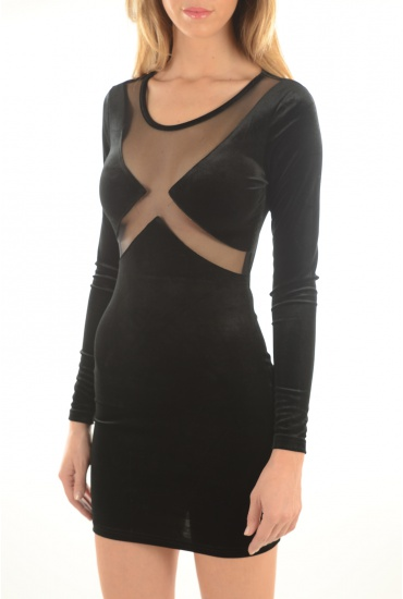 FEMME NOISY MAY: BRAVE L/S DRESS
