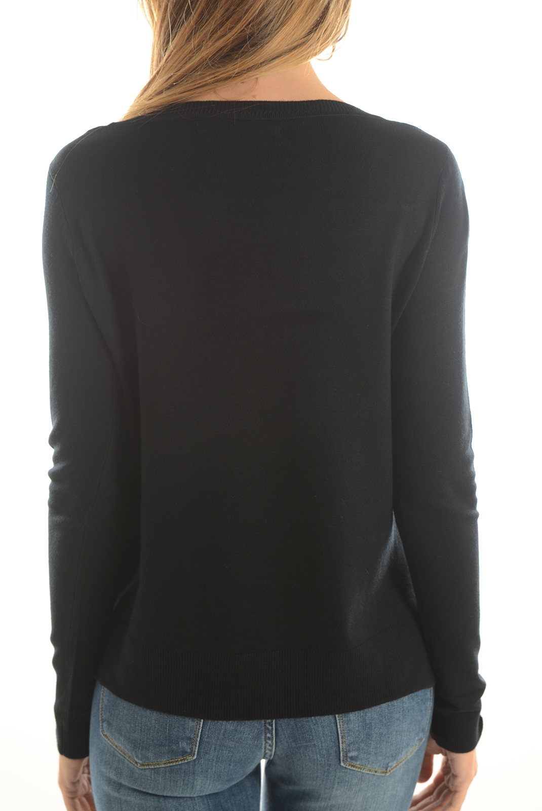Pulls & gilets  Only MILA L/S PULLOVER BLACK