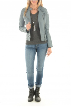 NEW START FAUX LEATHER JACKET - FEMME ONLY