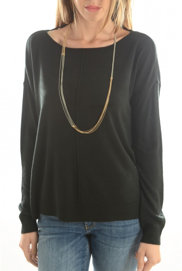 CHEN L/S BOATNECK-N - MARQUES NOISY MAY