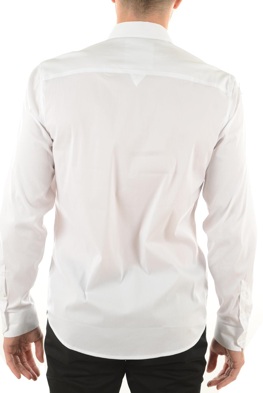 Chemises   Guess jeans M51H1DW5M50 009 BLANC