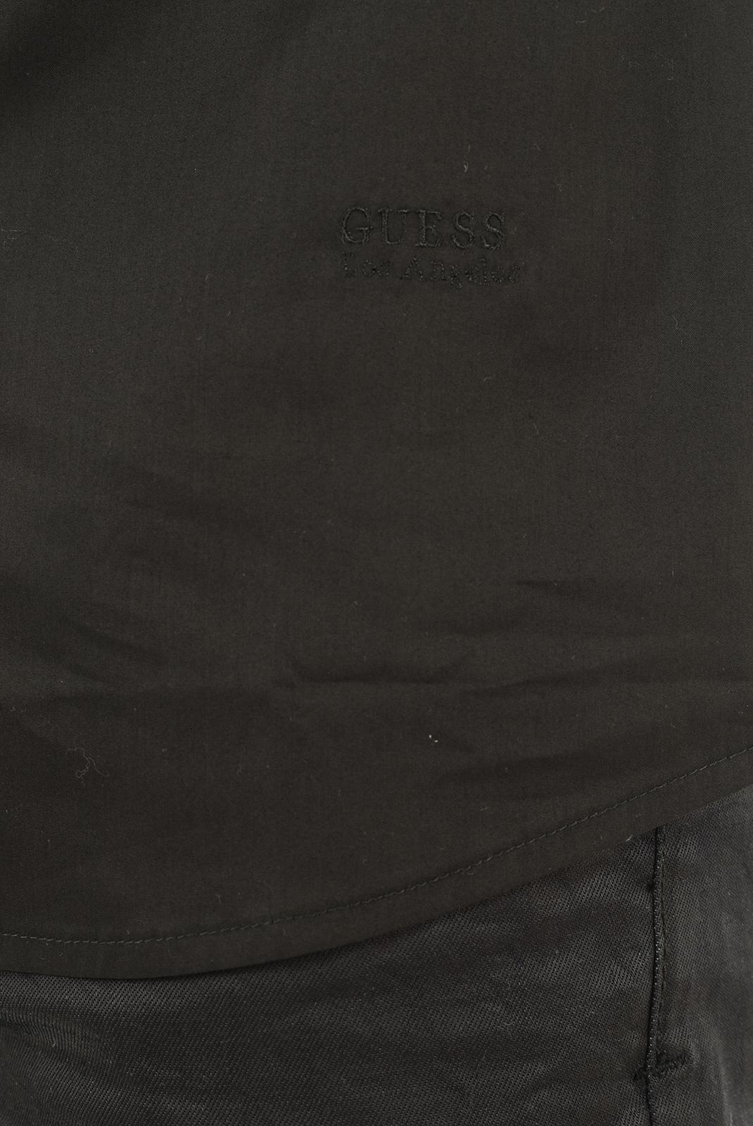 Chemises   Guess jeans M51H1DW5M50 996 NOIR