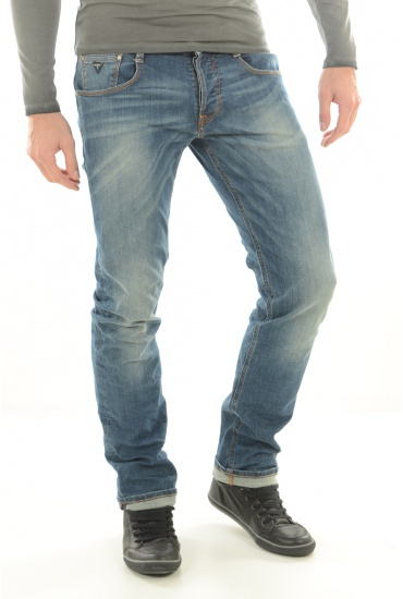 M62AS3D23T0 SLIM STRAIGHT - HOMME GUESS JEANS