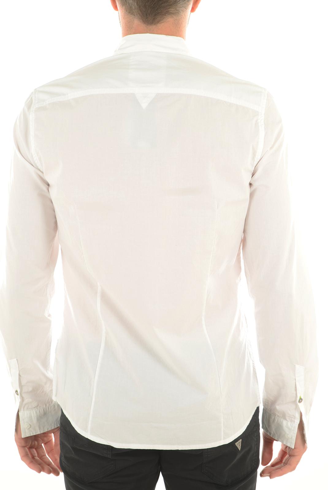 Chemises   Guess jeans M62H05W7D90 A009 BLANC