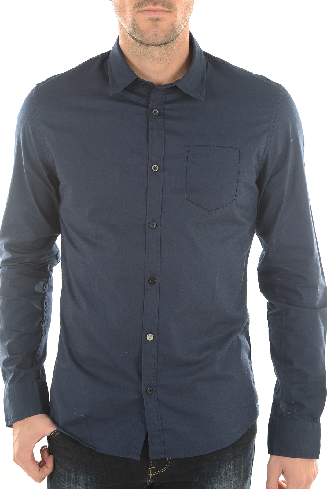 Chemises   Guess jeans M62H03W76N0 G720 BLEU