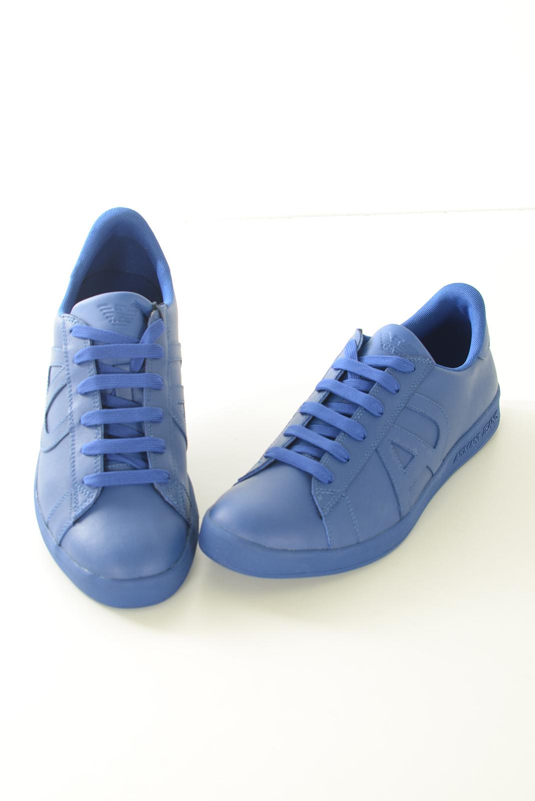 Chaussures   Armani jeans 06565 YO 5 bleu