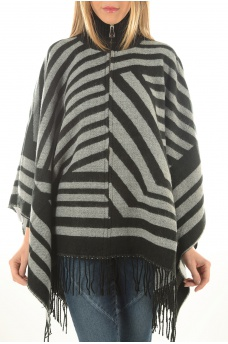 OHARA WEAVED PONCHO - FEMME ONLY