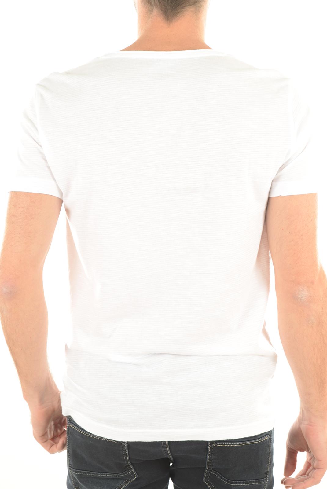 Tee-shirts manches courtes  Emporio armani 903018 6P625 WHITE 00010