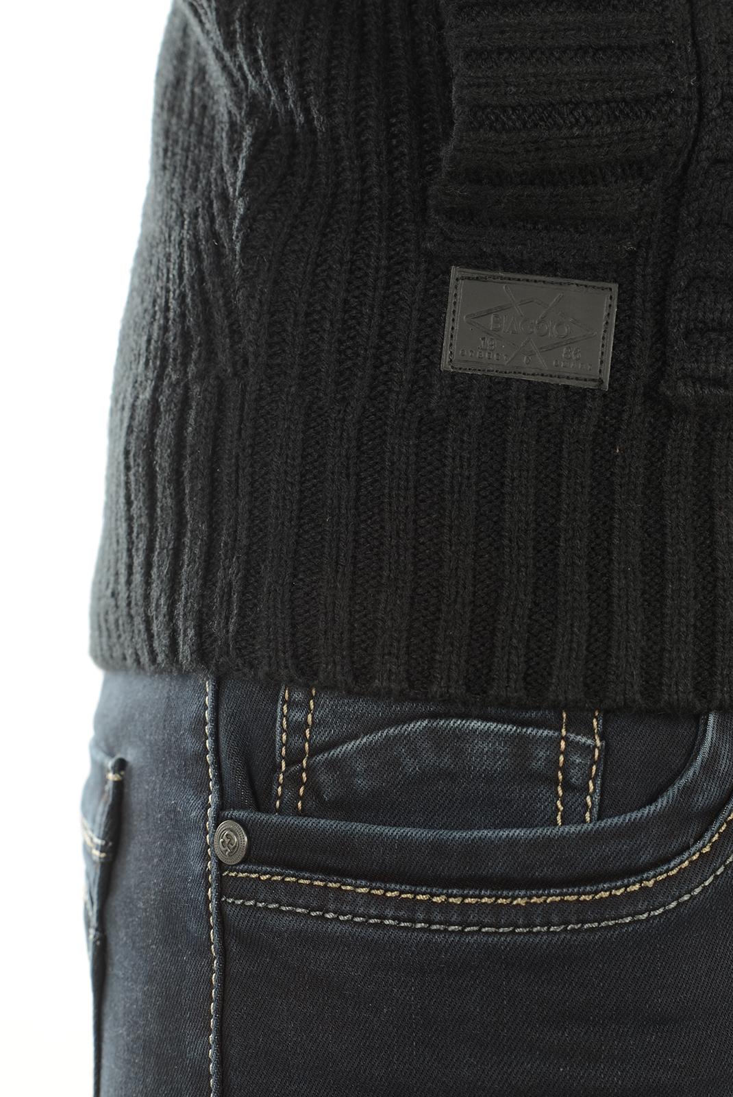 Gilets  Biaggio jeans POBLA BLACK
