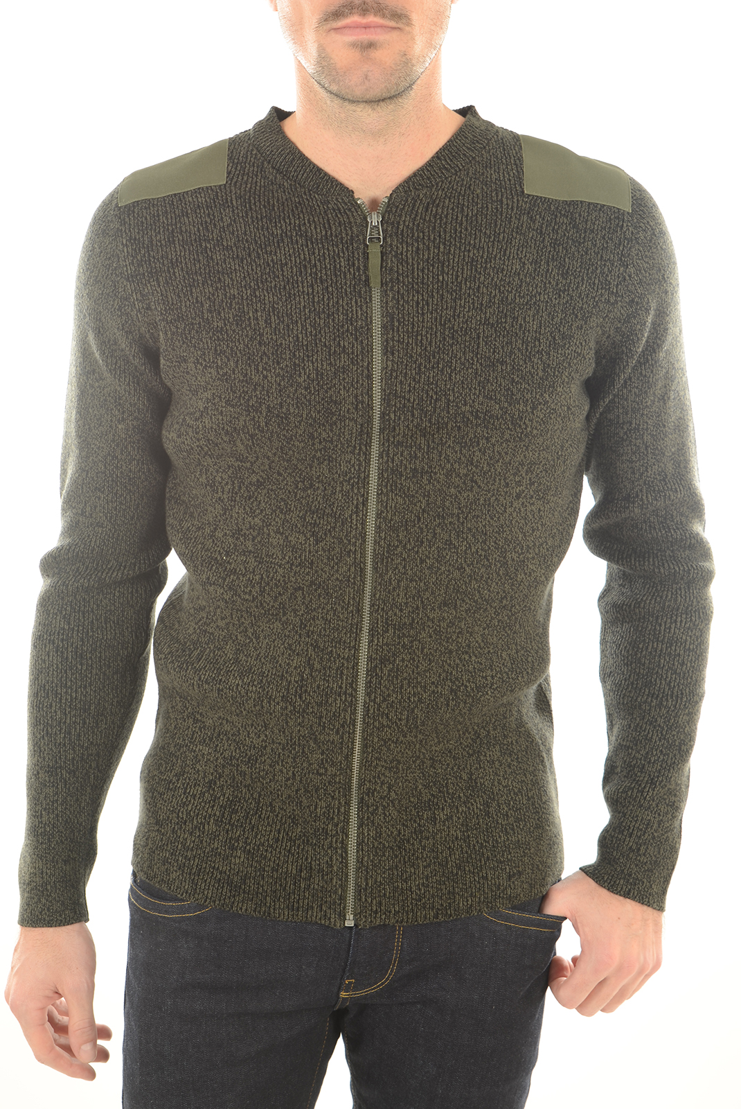 Pulls & Gilets  Jack & Jones ZONE KNIT CARDIGAN FOREST NIGHT