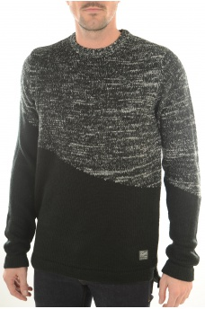 ASYMMETRIC KNIT CREW - MARQUES JACK AND JONES
