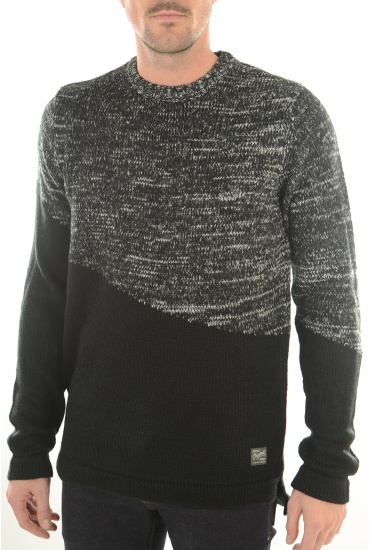 MARQUES JACK AND JONES: ASYMMETRIC KNIT CREW