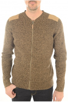 ZONE KNIT CARDIGAN - HOMME JACK AND JONES