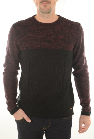 RADNAN KNIT CREW - HOMME JACK AND JONES