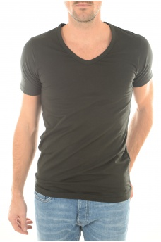 HOMME JACK AND JONES: BASIC V-NECK S/S