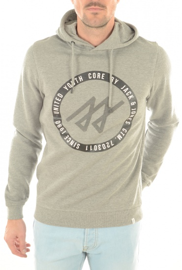 ALBERT SWEAT HOOD - HOMME JACK AND JONES