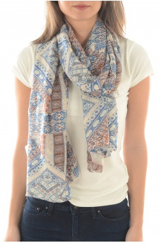 EMINA IKAT SCARF - MARQUES ONLY