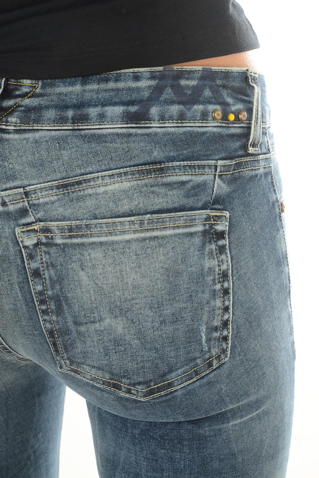 Jeans   Meltin'pot MAIA D2040 PE431 BF16   BLEU