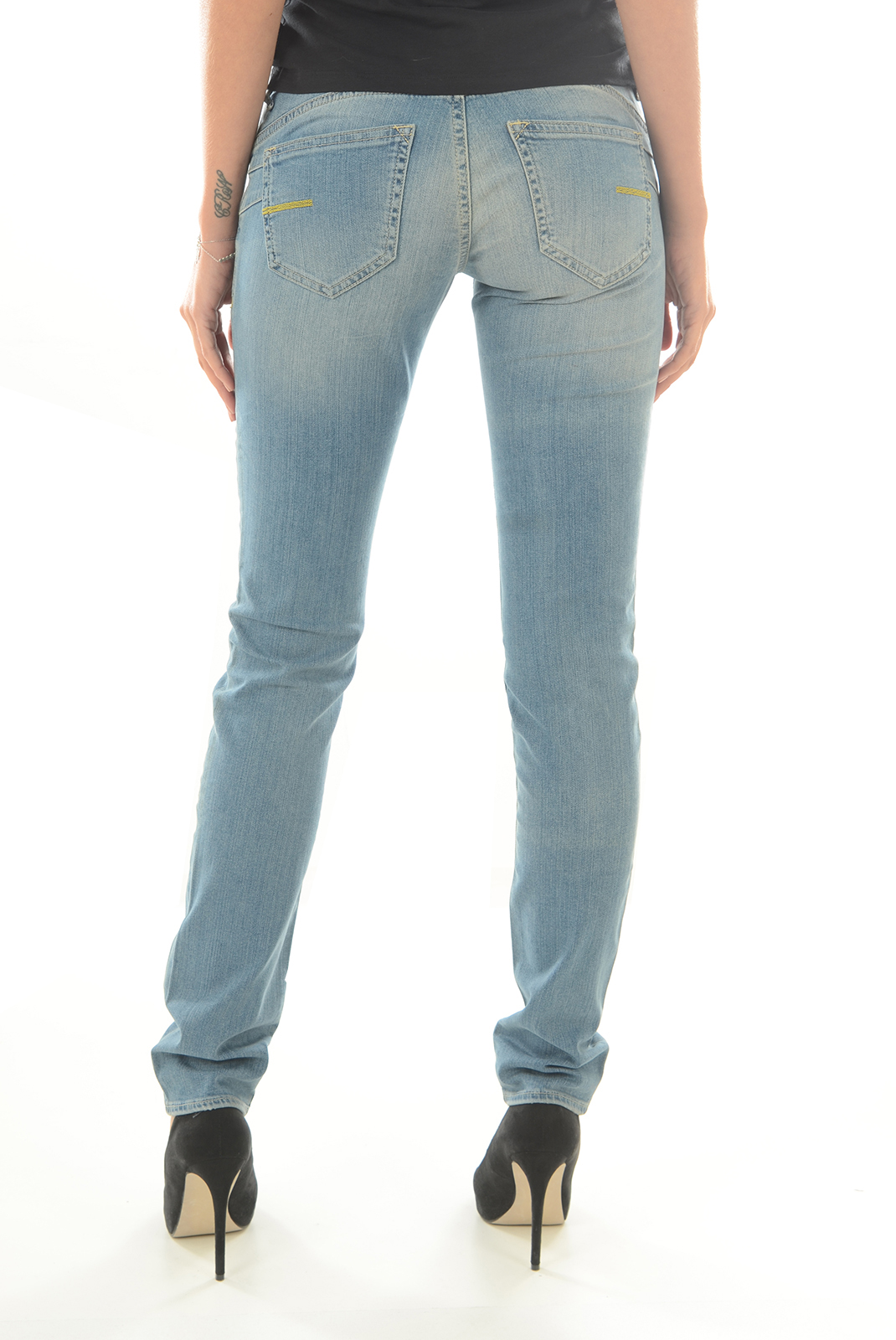 Jeans   Meltin'pot MONIE D1586 UB472 BLEU BS15