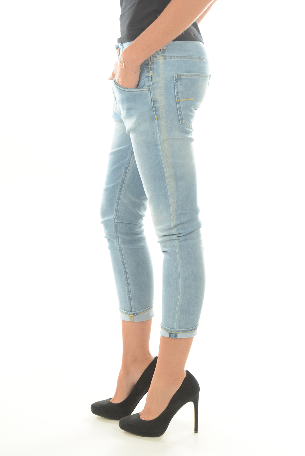 Jeans   Meltin'pot LEIA D1622 UK475 BLEU SB14