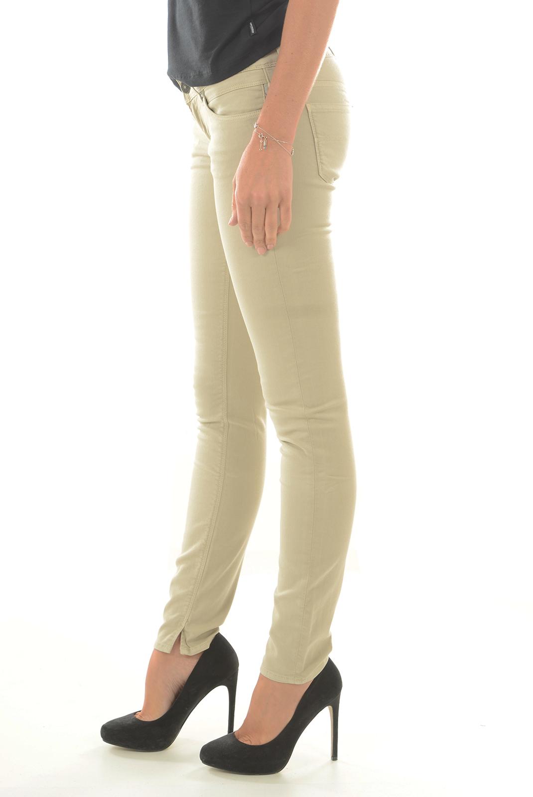 Jeans   Meltin'pot MARCELLE G2314 BE32 BEIGE