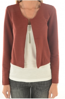 FEMME ONLY: LECO ODESSA L/S CARDIGAN JRS NOOS