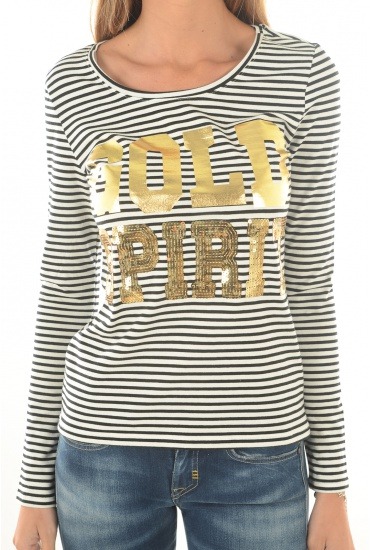 MARQUES ONLY: GOLD SPIRIT L/S TSHIRT JRS