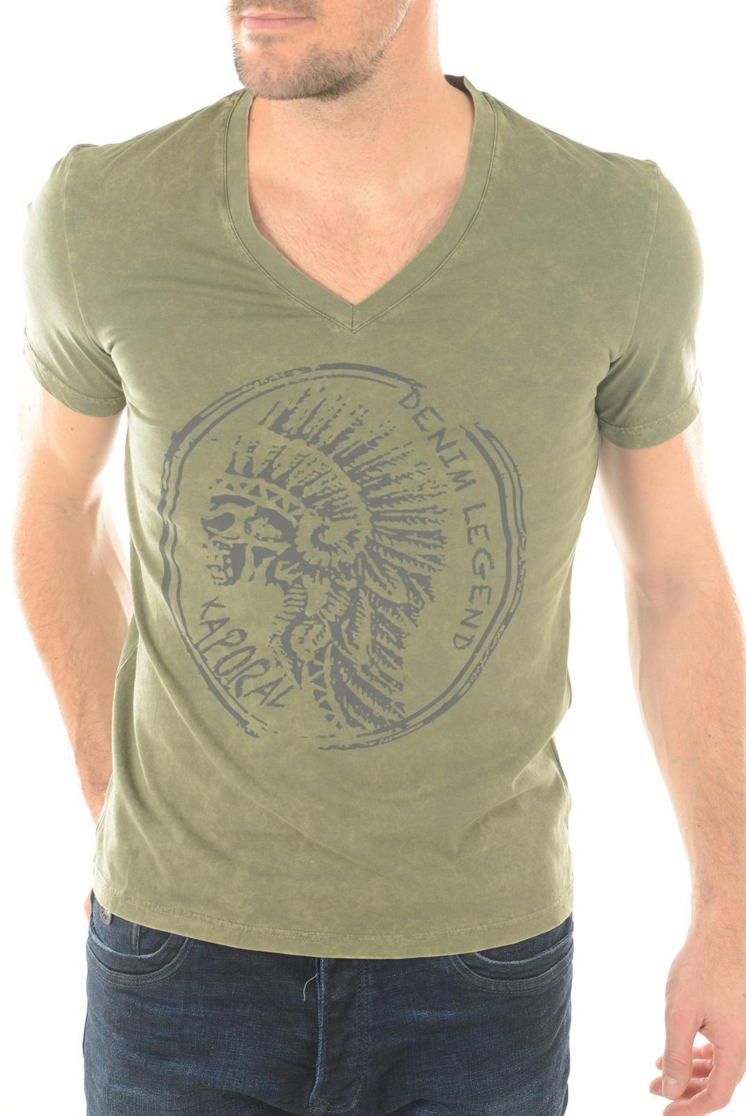 Tee-shirts  Kaporal AMEN KAKI