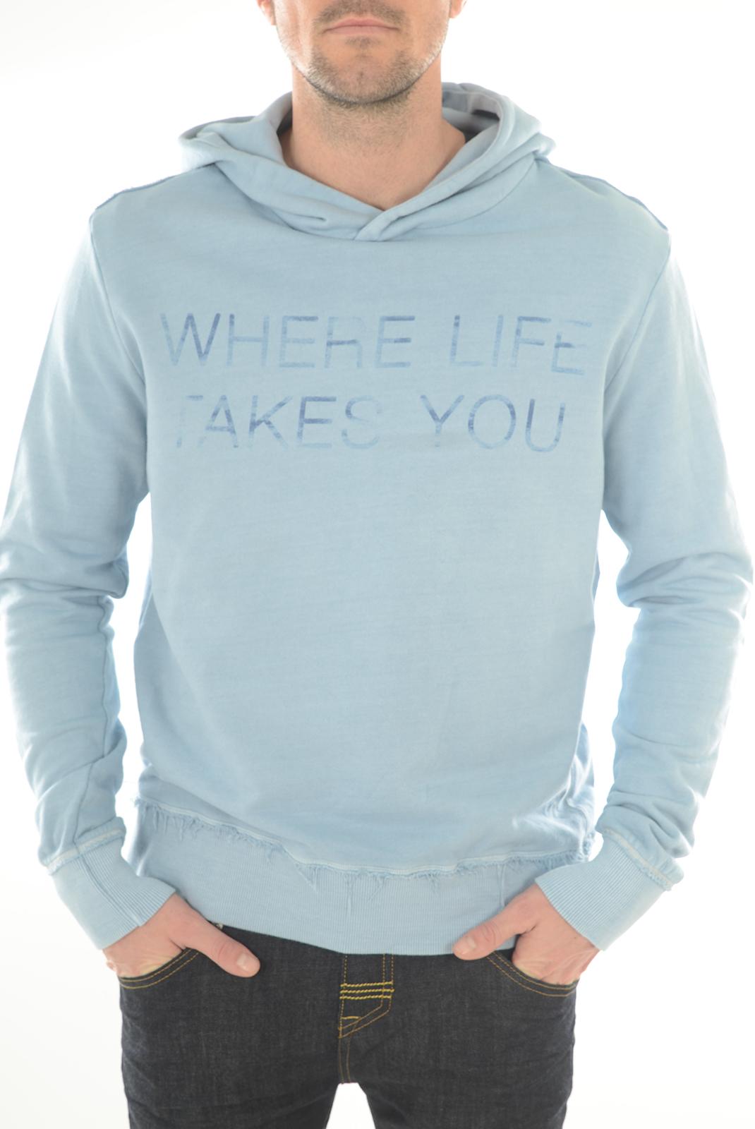 Sweatshirts  Meltin'pot MF030 AN74 CIEL