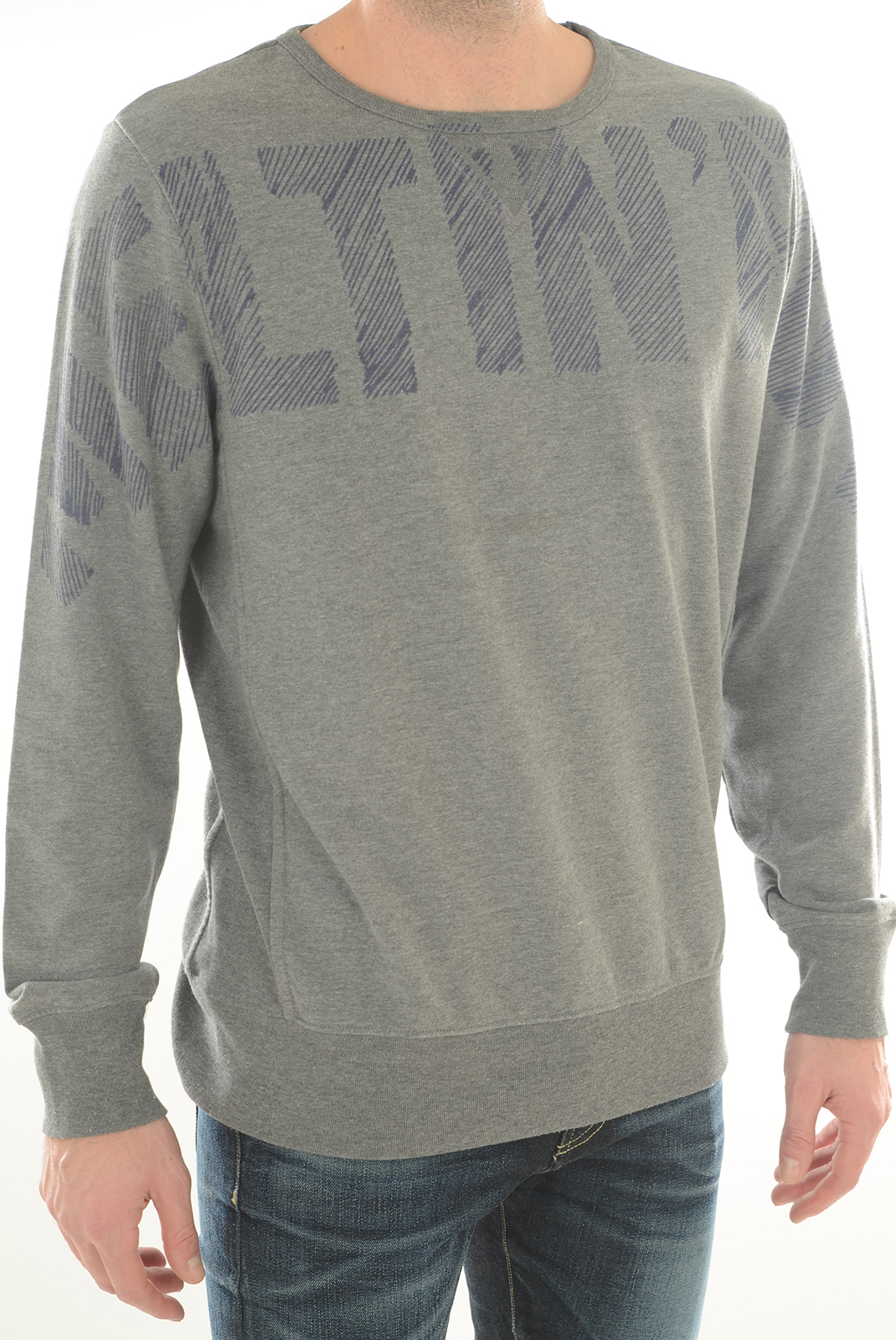Sweatshirts  Meltin'pot FIDEL GM46 GRIS