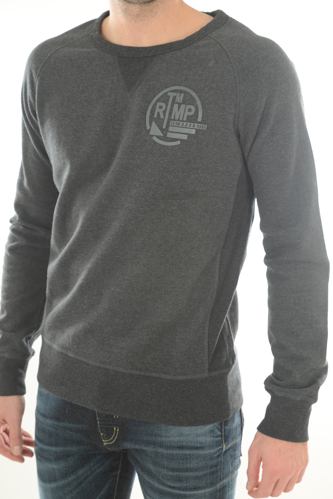 Sweatshirts  Meltin'pot MPMFL002 GM51 GRIS