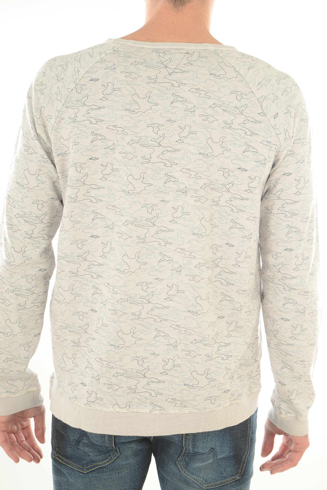 Sweatshirts  Meltin'pot FINE0002 GR01 GRIS