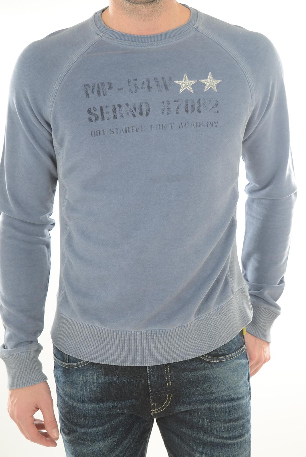 Sweatshirts  Meltin'pot MF020 AN08 BLEU