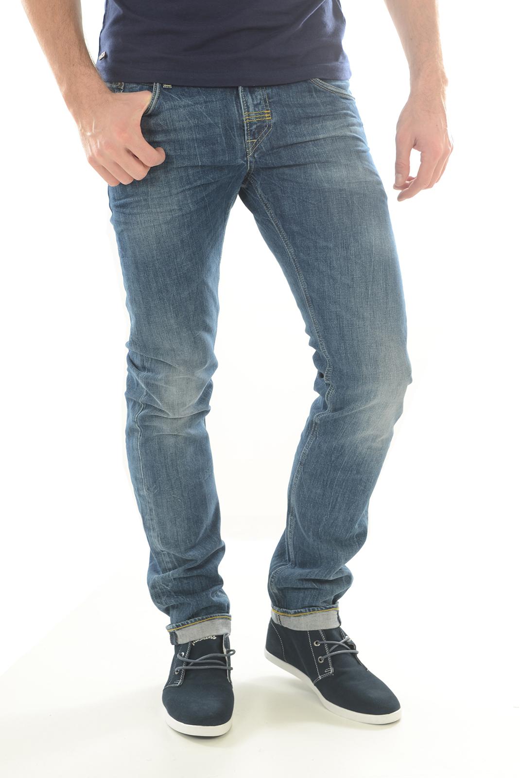 Jeans  Meltin'pot MARTIN D1562 UK395 BLEU BS15
