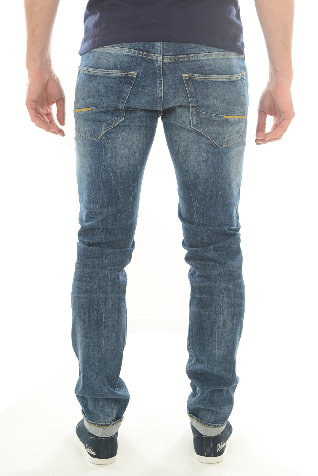 Jeans  Meltin'pot MARTIN D1562 UK395 BLEU BS15