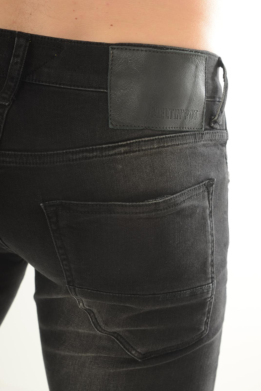 Jeans  Meltin'pot MARTIN D1681 UK060 NOIR